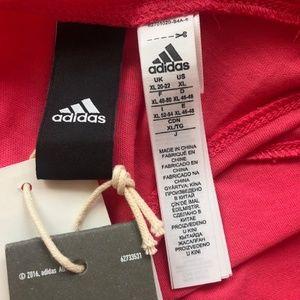 adidas Tops - Adidas Womens Pink Tank Top Size XL ESS Lin Lo NWT